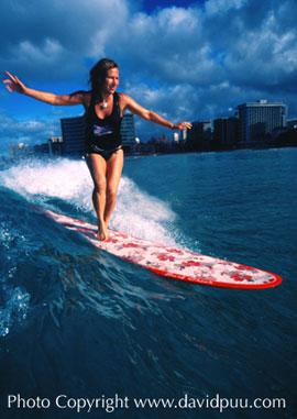 Donna von Hoesslin, surfer & business woman extraordinaire!