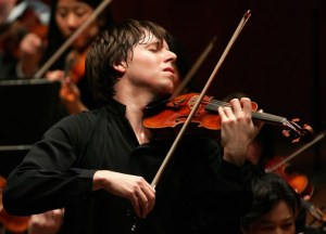 Joshua Bell, uber-famous (and talented!) violinist